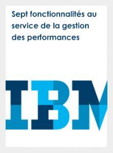 sept fonctionnalités au service de la gestion des performances
