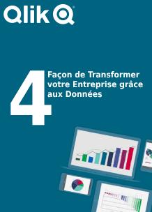 4 façon de transformer votre entreprise grâce aux données