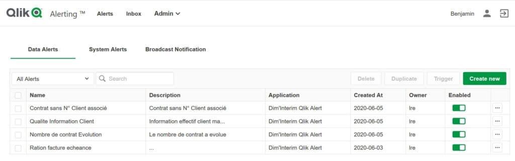 Qlik Alerting une gestion d'alertes basée sur les données-